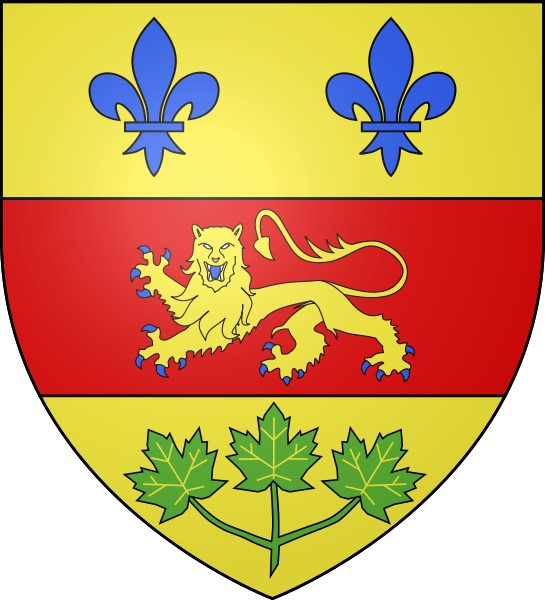 The first Coat of Arms of the Province of Quebec (1867 -1939)