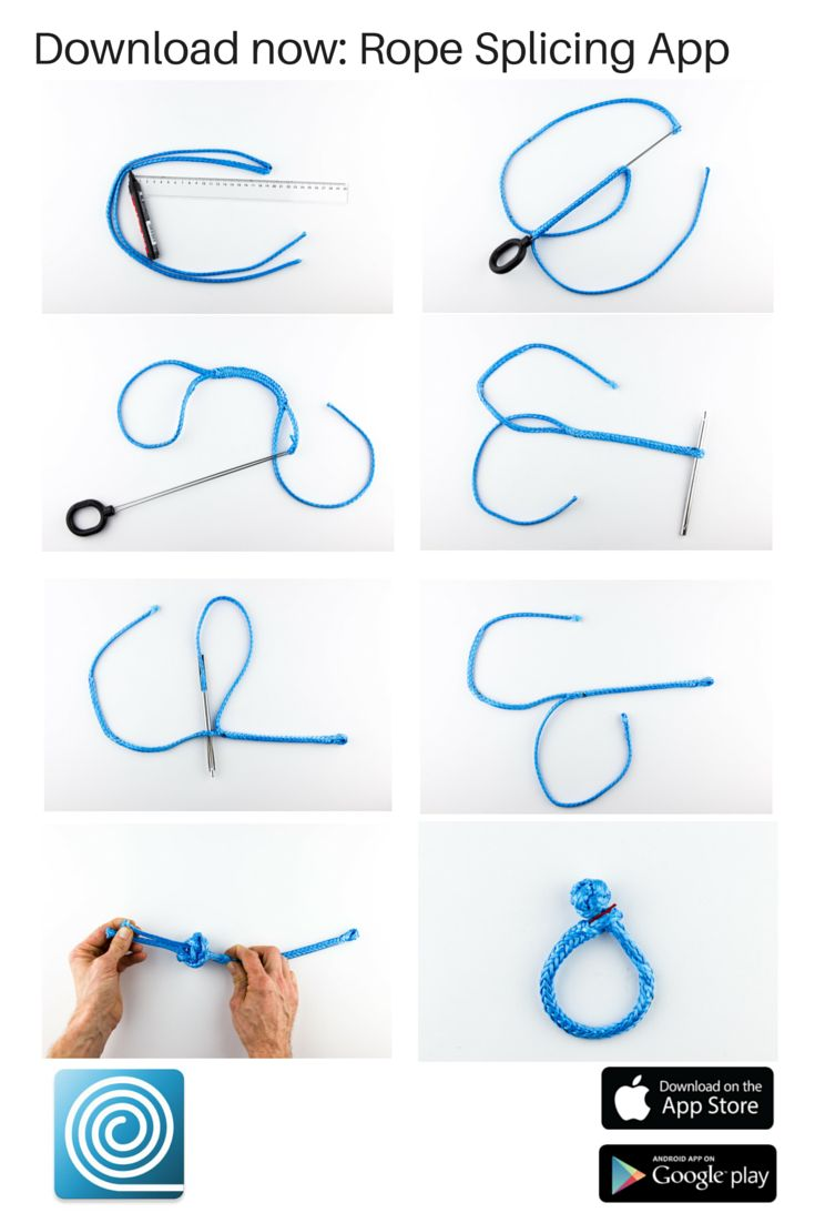 splice braided rope instructions