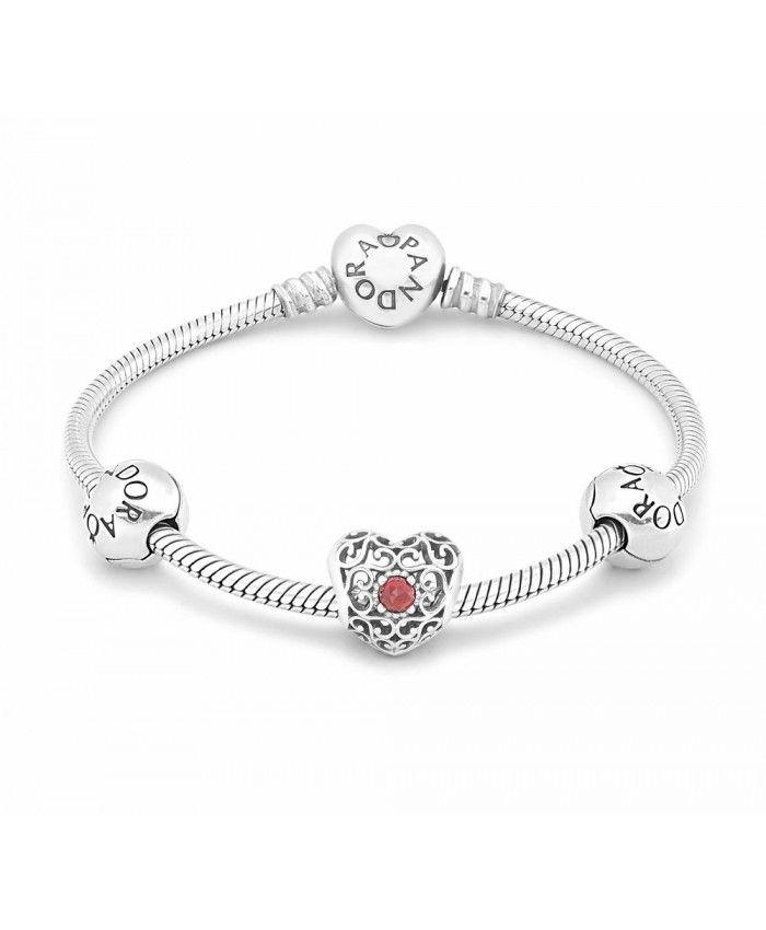 0c610ab86 january birthstone bracelet Cheap Online | weheartcharms.com ...