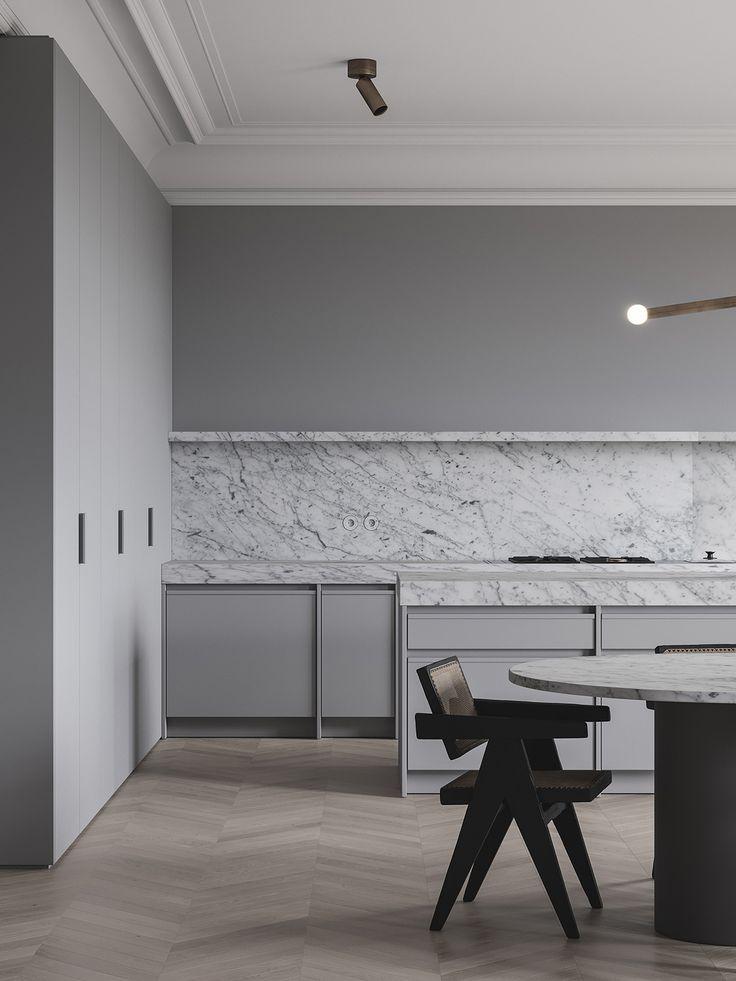 kitchen, kitchen ideas, kitchen cabinets, grey