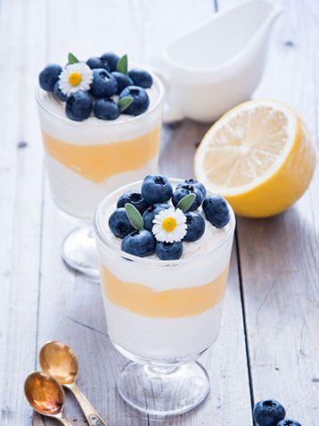 Verrine au lemon curd