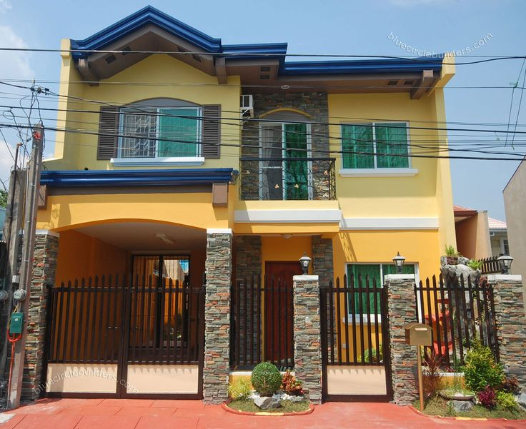 9 best philippines houses images on pinterest modern for Small house exterior design philippines