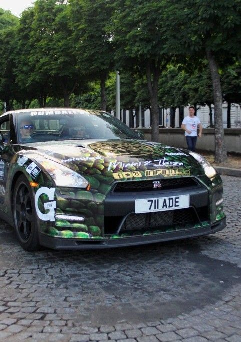 Nissan GT-R Gumball 3000 (2014)