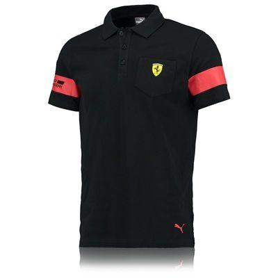 Scuderia Ferrari 2016 Polo by PUMA - Black