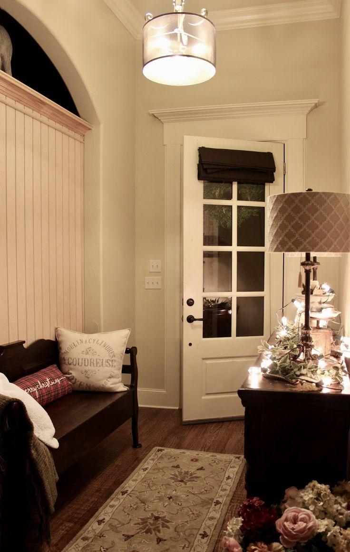 New light finally hung At Rivercrest Cottage