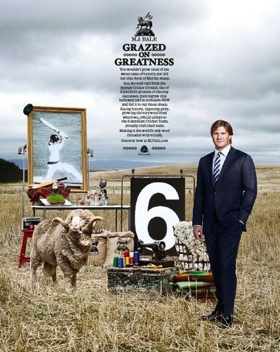 Grazed on Greatness - suits made from 'lucky wool'
