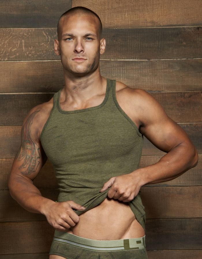 Filthy Tank by C-IN2 in Olive Fatigue:   #CIN2 #TankTop #Tank