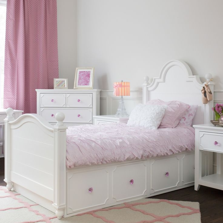 Sydney Twin Panel Bed with Underbed Storage
