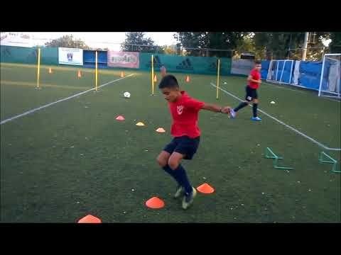 Valantis Spanidis Tor Tre Teste Salonicco πρώτη προπόνηση προ-παιδικού 2014-15 - YouTube