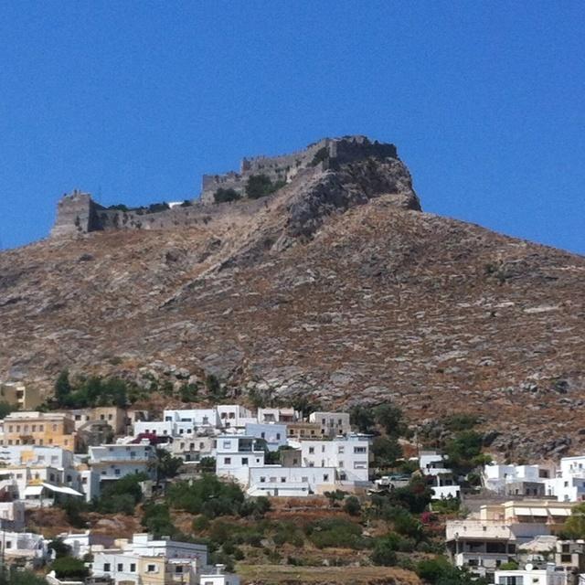 Die Festung von Leros. The fortress of Leros. Το κάστρο του Λέρου.