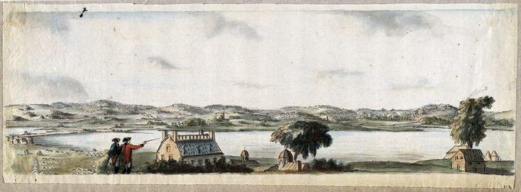 Richard Williams Maps the Siege of Boston