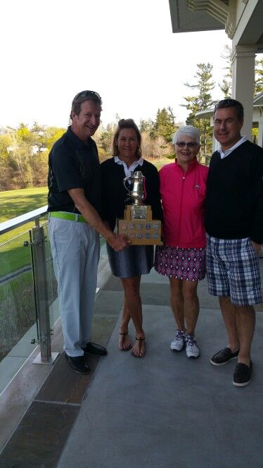 Morden Cup 2015 Rick Matheson  Martha Stratton Martha Hinder Stephen Chisholm