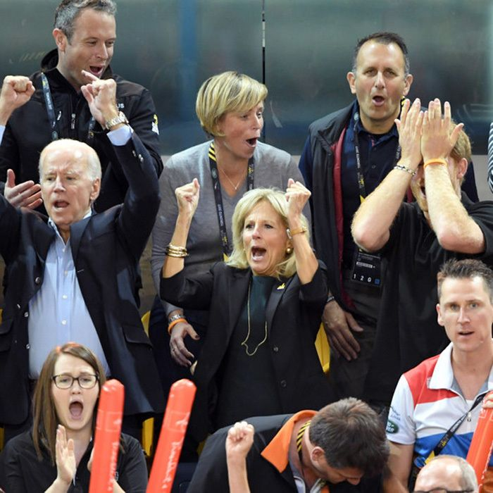 Prince Harry couldn't believe his eyes as he, Joe Biden and Dr. Jill Biden watched the wheelchair basketball final between USA and Denmark.