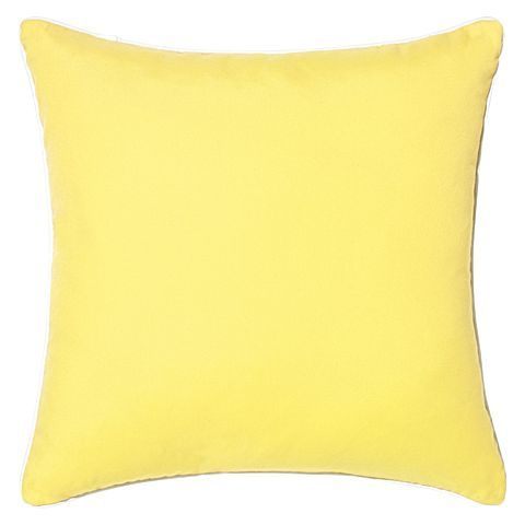 Complement any aesthetic and revive any space with plush comfort with the Riviera Plain Outdoor Cushion from Rapee.