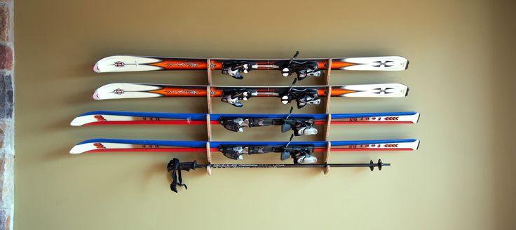 Best 25 Ski Rack Ideas On Pinterest Sports Storage Ski