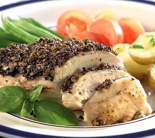 http://hotindonesiarecipes.blogspot.com/ Baked Chicken Breast With Tapenade