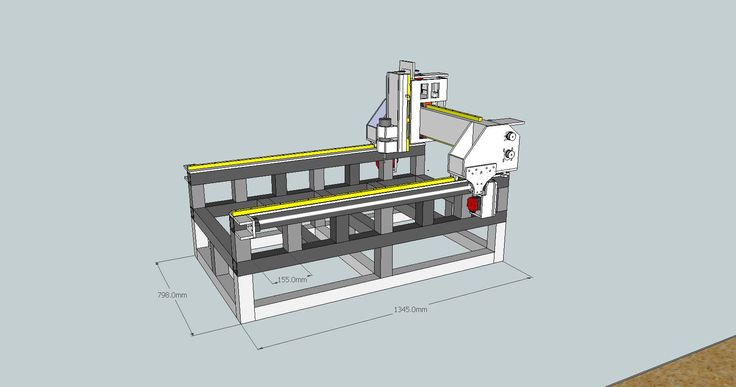 Hobby CNC Router Design