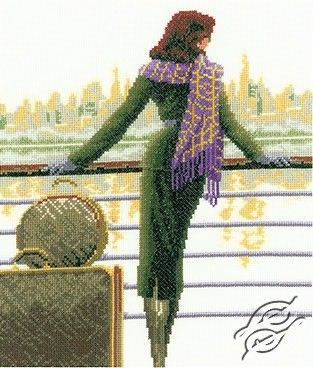 Port Of Call - Cross Stitch Kits by VERVACO - PN-0011802