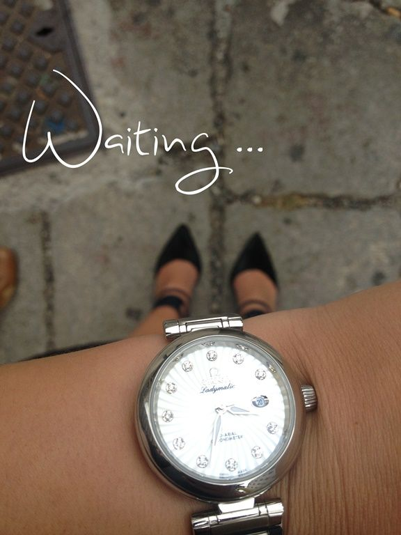 waiting is the main acitivity at MFW