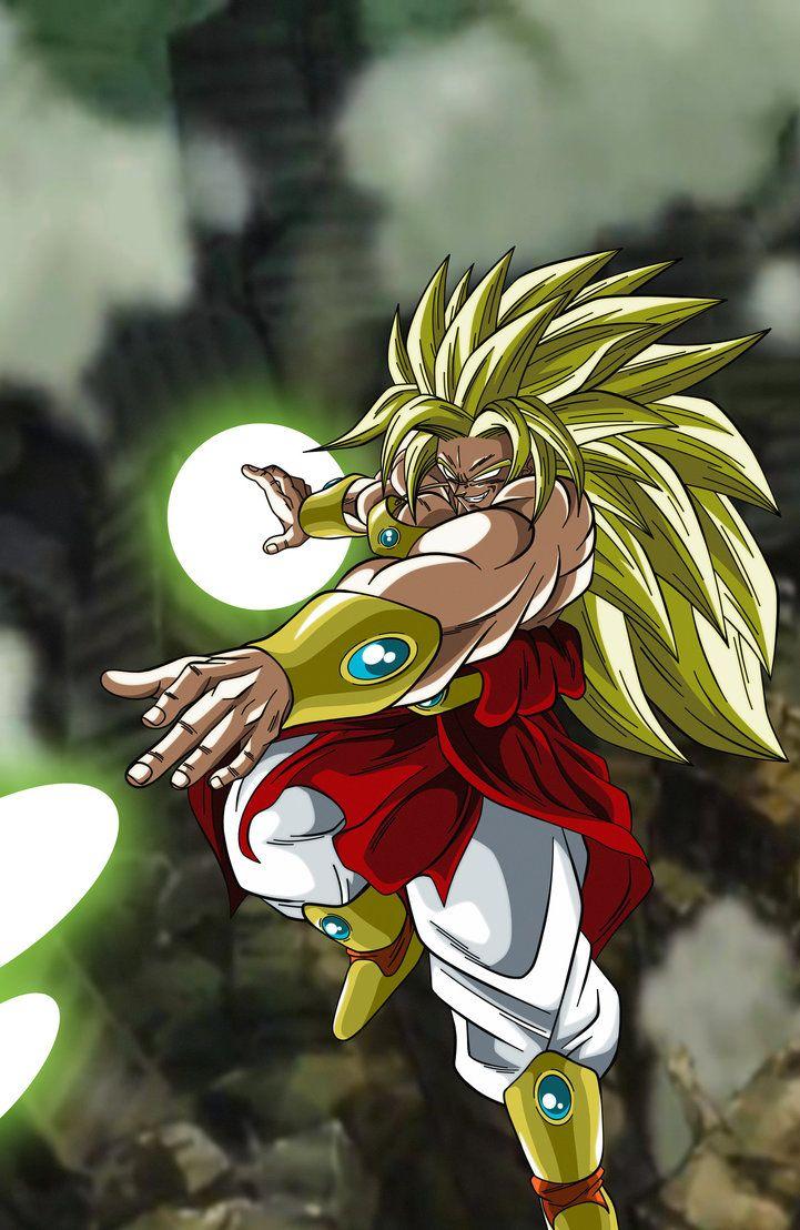 Legendary Super Saiyan God Broly by maddness1001