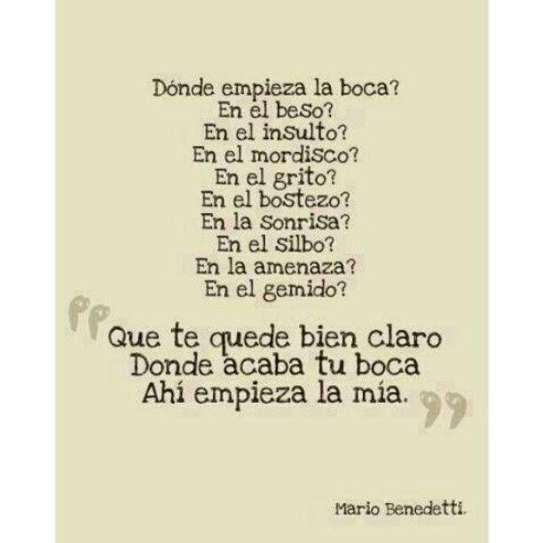 Ahí empieza la mia... #frase #espanol