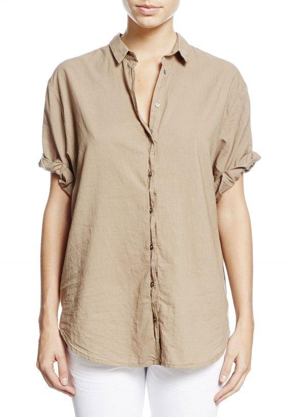 Xirena | Channing Short Sleeve Shirt | WWW.TUCHUZY.COM
