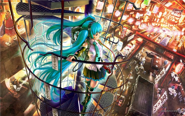 Vocaloid Desktop Backgrounds.
