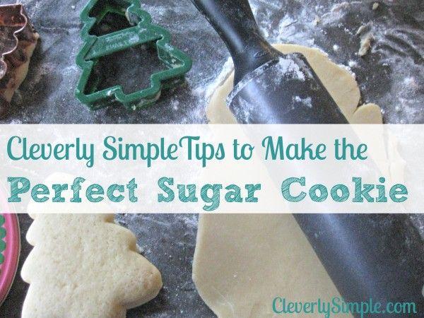 How To Make The Best Sugar Cookie : Sugar Cookie Recipe