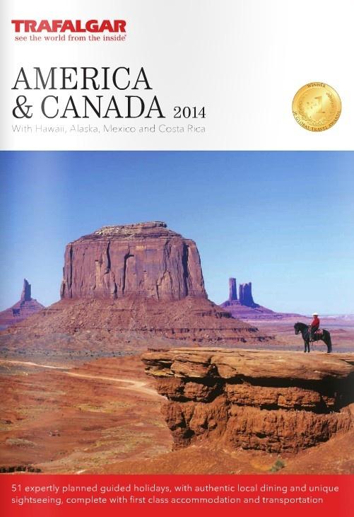 Trafalgar - America & Canada 2014 Brochure