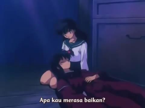 Inuyasha Episode 13 Sub Indonesia - Misteri Perubahan Wujud Inuyasha Menjadi Manusia