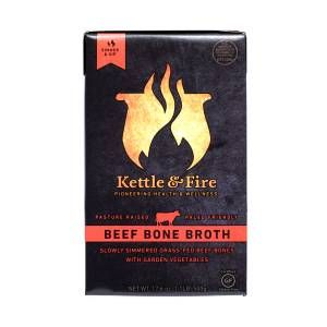 Shop Kettle & Fire Grass-Fed Beef Bone Broth at wholesale price only at ThriveMarket.com