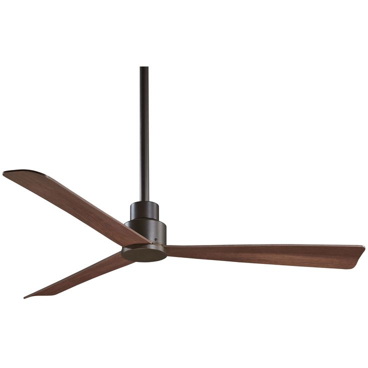 Simple Oil Rubbed Bronze 52 Inch Outdoor Fan Minka Aire Patio/Outdoor Ceiling Fans Fans