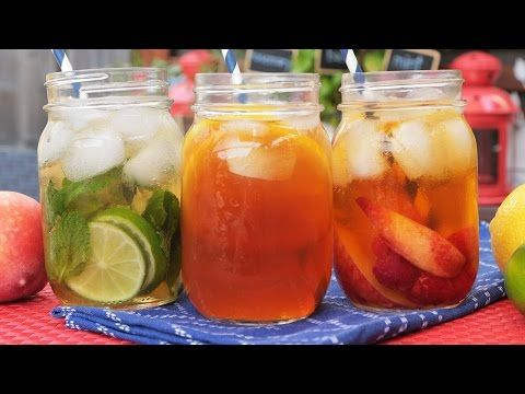 Iced Tea 3 Delicious Ways - YouTube