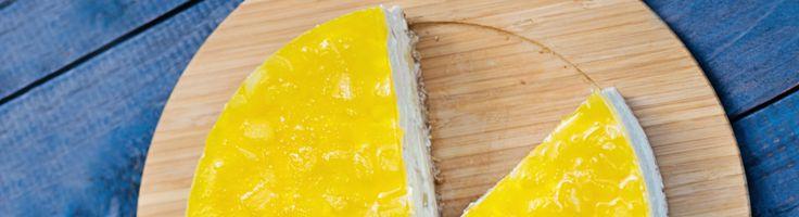 Tarte au fromage et pina colada