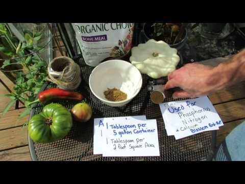 Organic Bone Meal: A Slow Release Phosphorous Fertilizer - The Rusted Garden 2013 - YouTube