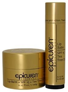 Epicuren Lip Balm with Tea Tree Oil....love love love