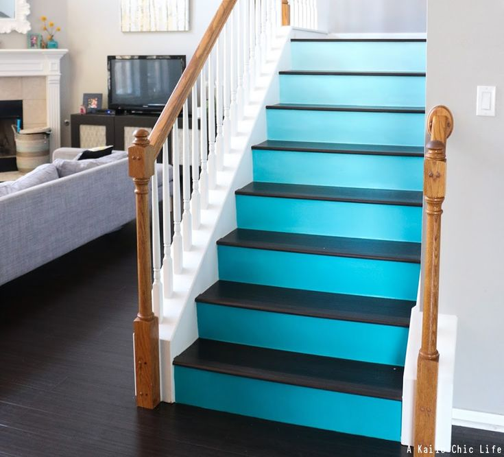 Best 25 Painted Stair Risers Ideas On Pinterest 400 x 300