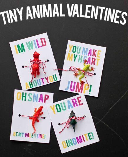 Tiny Animal Valentines