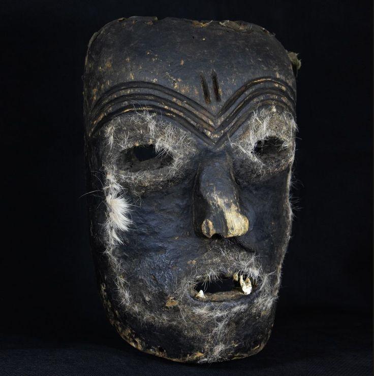 Makishi Katoyo Simonda Mask - LUVALE - Northwestern Zambia