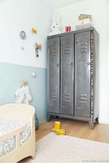 Lockers in Kids' Room | #KidsRoom #InteriorDesign