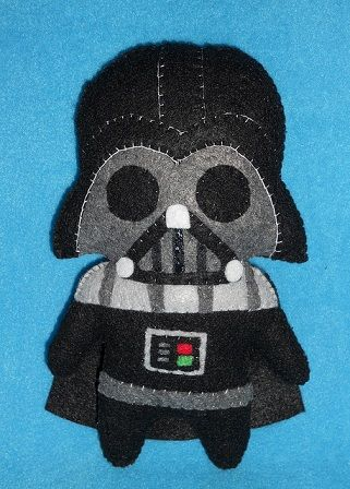 Comunidad El Pais » Manualidades con fieltro | El blog del fieltro » Muñeco de fieltro de Darth Vader