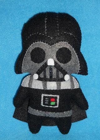 Comunidad El Pais » Manualidades con fieltro   El blog del fieltro » Muñeco de fieltro de Darth Vader