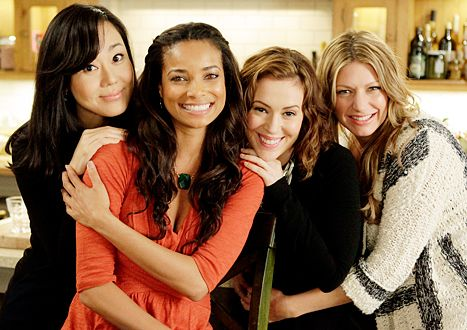 Mistresses cast - Like the connection between the actresses in this pose