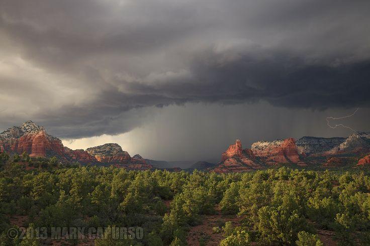Sedona Monsoon by Mark Capurso on 500px