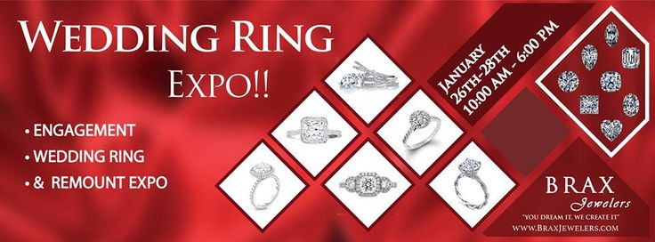 LAST DAY of our Wedding Ring Expo!! Come on by and get a custom diamond ring! Special financing options available too!