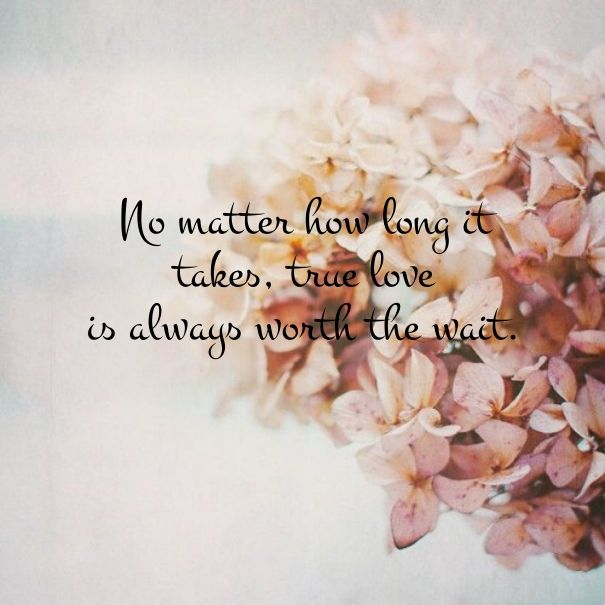 Love Finds You Quote: 17 Best Worth The Wait Quotes On Pinterest