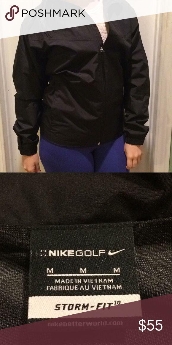 Nike gold rain jacket Never worn Nike rain jacket Nike Jackets & Coats Raincoats