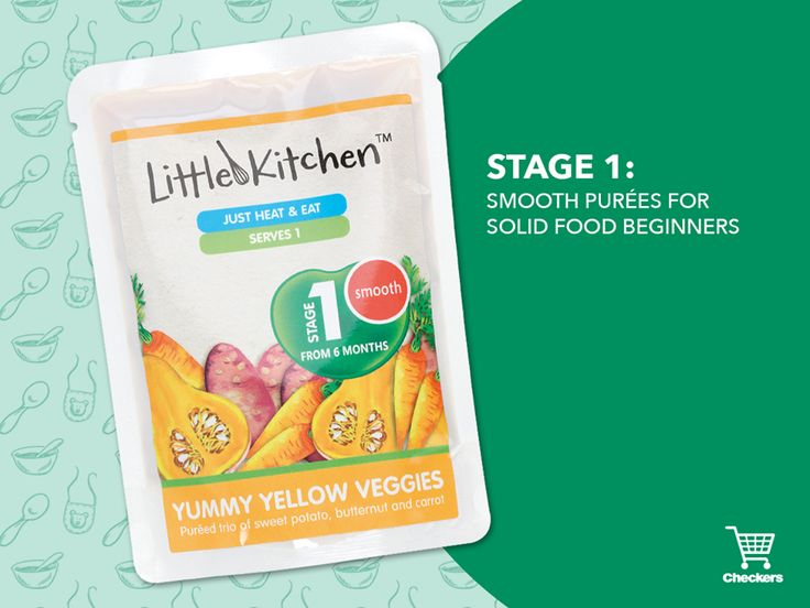 Little Kitchen's deliciously smooth purées of simple fruit and veggie combinations are perfect for introducing your baby to solid food. Find this exclusive range at your nearest Checkers today! View more here>>http://bit.ly/21HaN0R