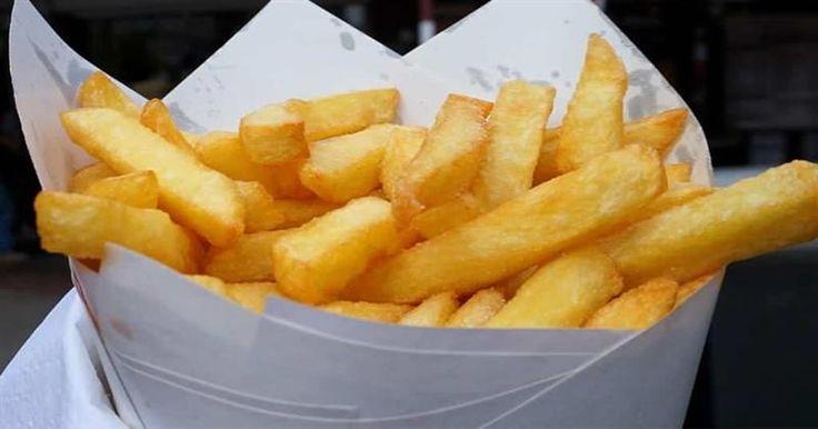 Οι Βέλγοι κάνουν τις καλύτερες τηγανητές πατάτες και αυτή είναι η συνταγή τους  #Συνταγή