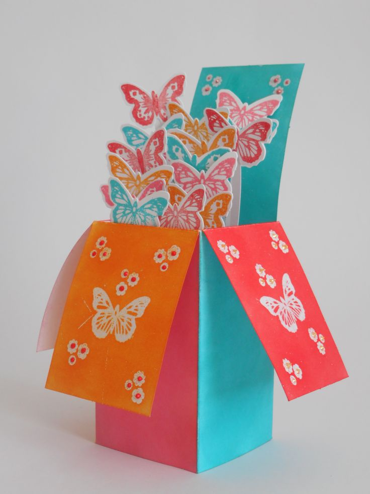 Card made by Phillipa Lewis using Craftwork Cards Butterfly Parade.